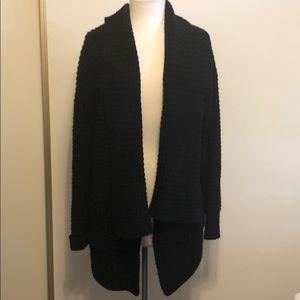 Vici waterfall chunky knit cardigan